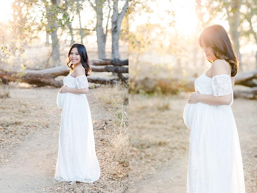 Outdoor Maternity Session Rocklin CA