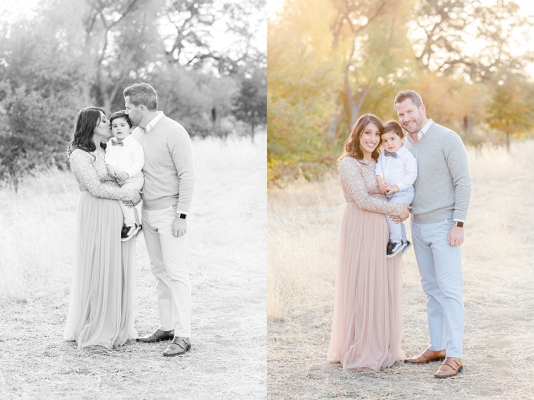 Sacramento Family Maternity Photo Session