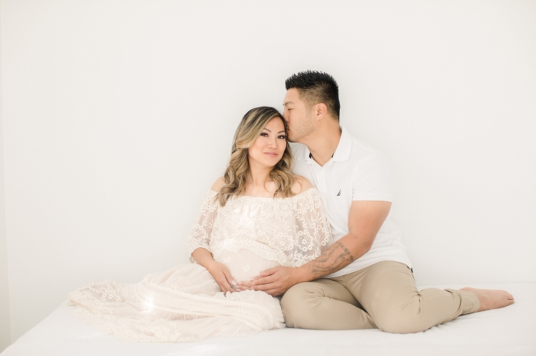 Sacramento Studio Maternity Session