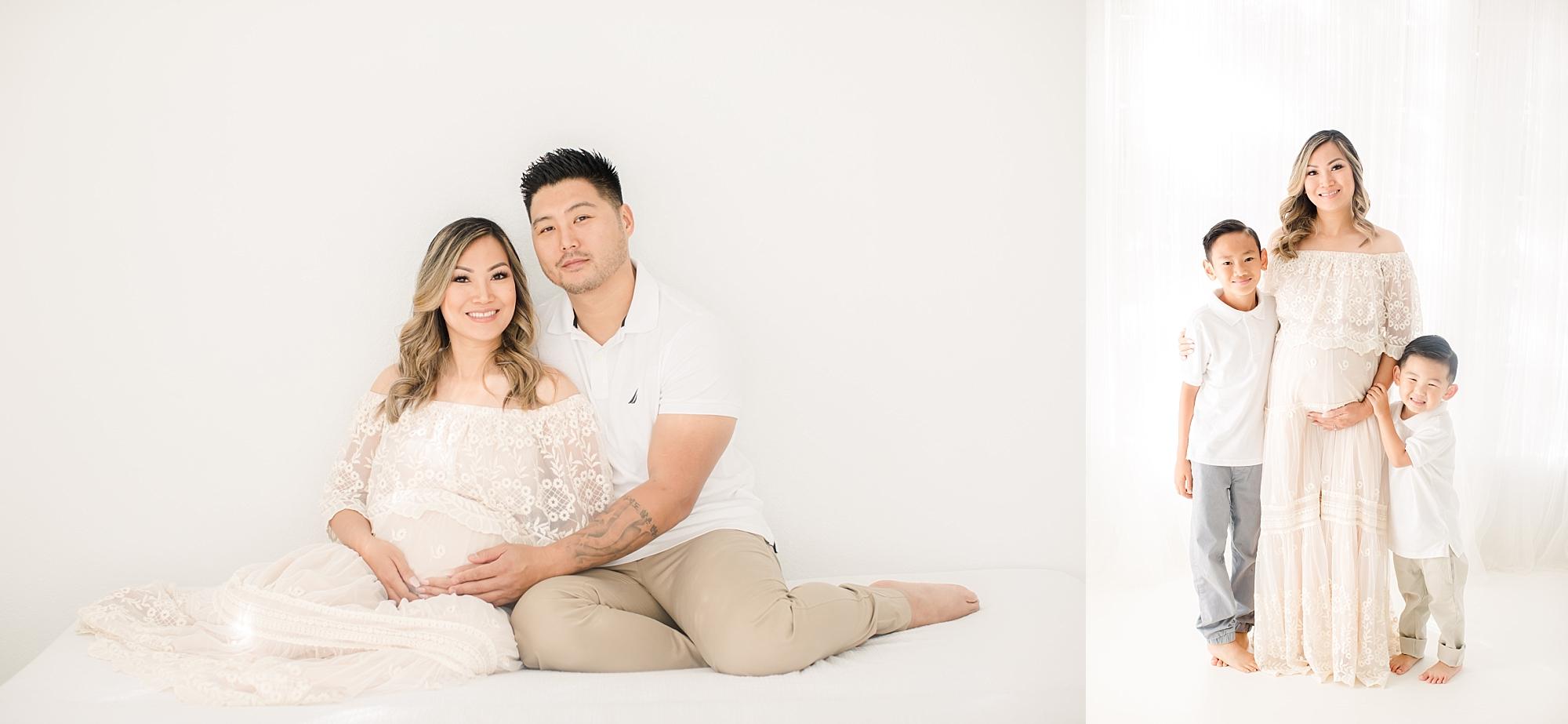 Sacramento Studio Maternity Session